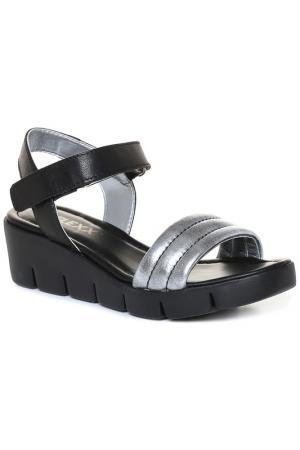 Туфли открытые THE FLEXX. Цвет: черный