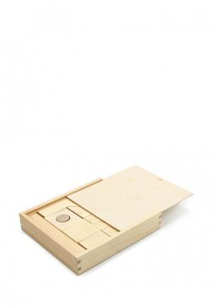 Конструктор Paremo Деревянный. Неокрашенный. 35 деталей. В деревянном ящике.. Цвет: разноцветный