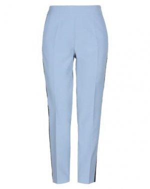 Повседневные брюки CLIPS MORE. Цвет: пастельно-синий