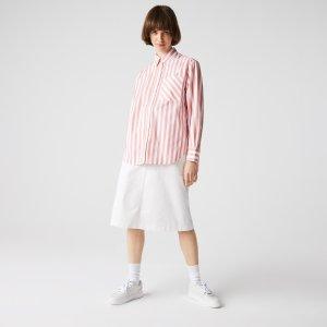 Блузы и рубашки Рубашка Lacoste. Цвет: розовый