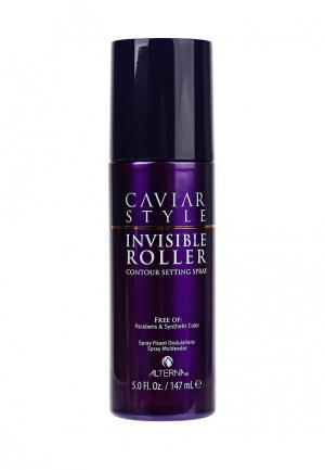 Спрей для укладки Alterna Caviar Style Invisible Roller Contour Setting Spray, создания локонов Как на бигуди, 147 мл