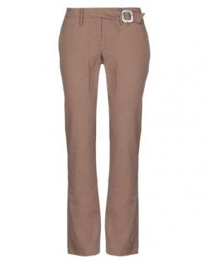 Повседневные брюки BLUE DEEP. Цвет: коричневый