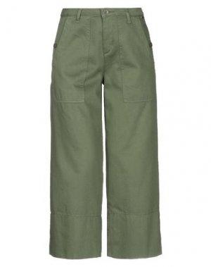 Брюки-капри LIU •JO. Цвет: зеленый-милитари
