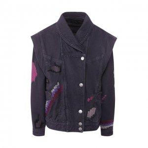 Джинсовая куртка Isabel Marant. Цвет: серый