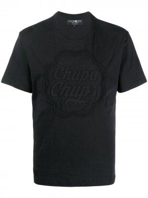 Футболка Chupa Chups Hydrogen. Цвет: черный