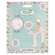 Hair Turban - Pink Polka Dot The Vintage Cosmetic Company