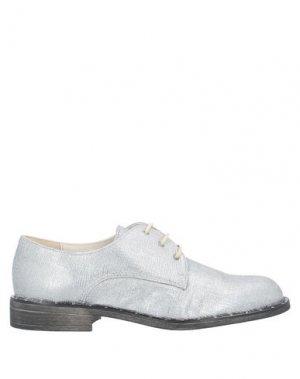 Обувь на шнурках CREATIVE. Цвет: серебристый