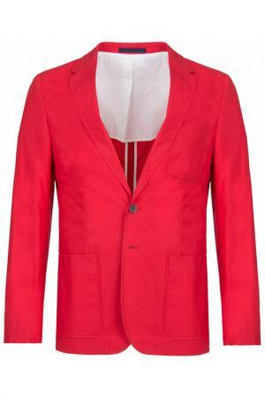 Пиджак Paul Smith. Цвет: красный
