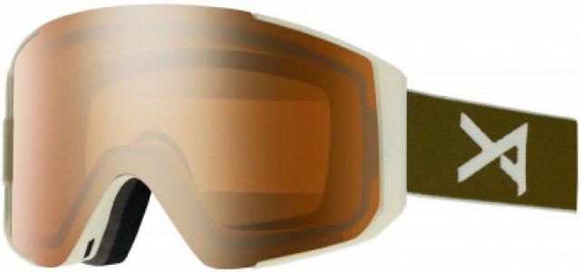 Маска сноубордическая CLUTCH Anon. Цвет: коричневый