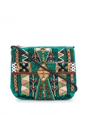 Сумка через плечо Mauri Antik Batik. Цвет: зеленый