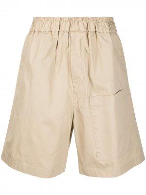 Спортивные шорты Jil Sander. Цвет: нейтральные цвета