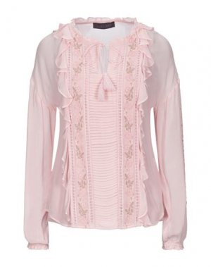 Блузка HALE BOB. Цвет: светло-розовый