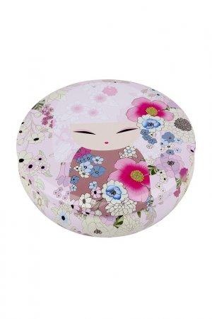 Жестяная шкатулка Аина Kimmidoll. Цвет: розовый