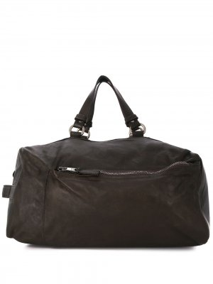 Weathered effect holdall bag Giorgio Brato. Цвет: коричневый