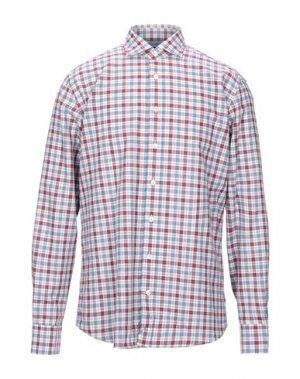 Pубашка HACKETT. Цвет: пурпурный