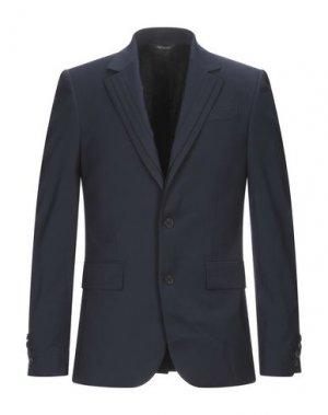 Пиджак LES HOMMES. Цвет: темно-синий