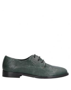 Обувь на шнурках ALEXANDER HOTTO. Цвет: темно-зеленый
