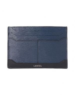Чехол для документов LANCEL. Цвет: темно-синий