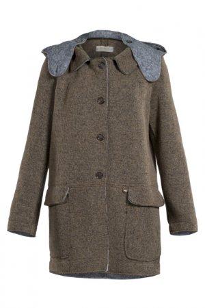 Пальто Met. Цвет: коричневый