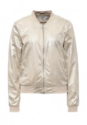 Куртка Only. Цвет: золотой