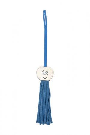 Брелок Cromia. Цвет: синий, белый