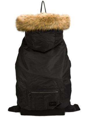 X Fenty bomber jacket backpack Puma. Цвет: чёрный