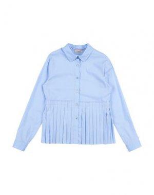 Pубашка PINKO UP. Цвет: небесно-голубой
