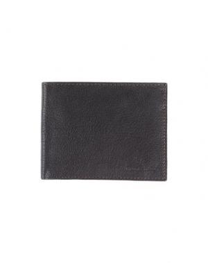 Бумажник BROOKSFIELD. Цвет: темно-коричневый