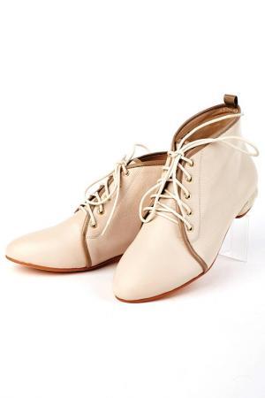 Ботинки Basic. Цвет: бежевый