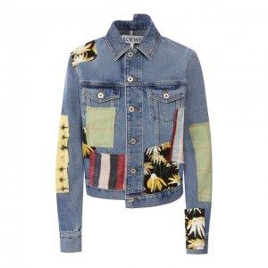Джинсовая куртка Loewe. Цвет: синий