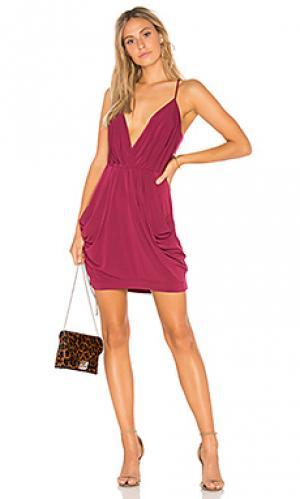 Платье BCBGeneration. Цвет: красное вино