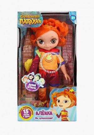 Кукла интерактивная Карапуз Аленка, 32 см. Цвет: разноцветный