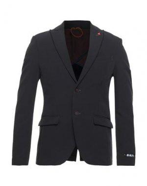 Пиджак BERNA. Цвет: стальной серый
