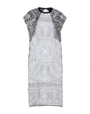 Длинное платье GIAMBATTISTA VALLI. Цвет: черный
