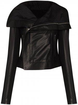 Байкерская куртка RICK OWENS. Цвет: черный