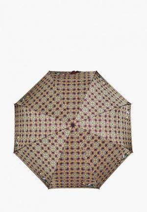Зонт складной Henry Backer. Цвет: разноцветный