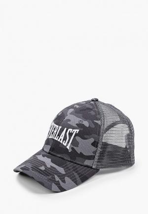 Бейсболка Everlast Classic Mesh. Цвет: серый