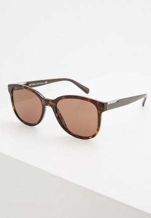 Очки солнцезащитные Prada PR 08US 2AU8C1. Цвет: коричневый