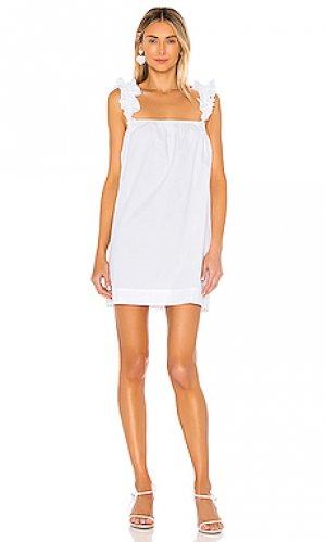 Платье britta LPA. Цвет: белый