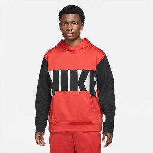 Мужская баскетбольная худи rma-FIT - Красный Nike