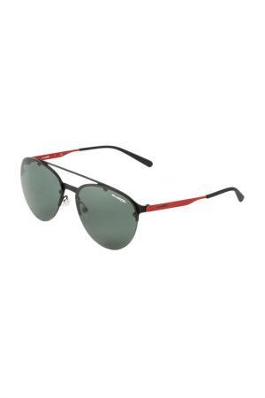 Очки солнцезащитные Arnette. Цвет: black rubber