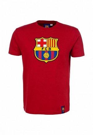 Футболка Atributika & Club™ FC Barcelona FC001EMASB30. Цвет: красный