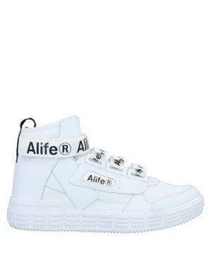 Кеды и кроссовки ALIFE. Цвет: белый