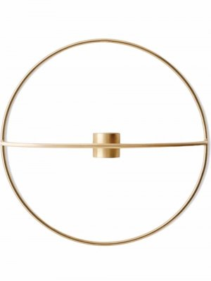 POV circular small candleholder Menu. Цвет: золотистый
