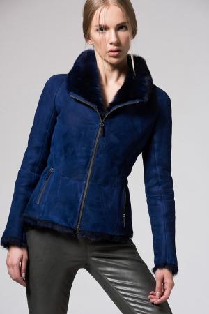 Куртка VESPUCCI BY VSP. Цвет: синий