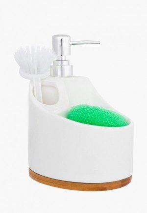 Дозатор для мыла Elan Gallery. Цвет: белый