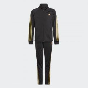 Спортивный костюм Team Regular 3-Stripes Sportswear adidas. Цвет: черный