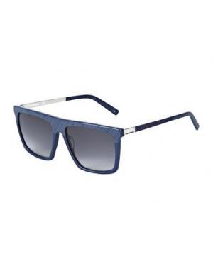 Солнечные очки KARL LAGERFELD. Цвет: темно-синий