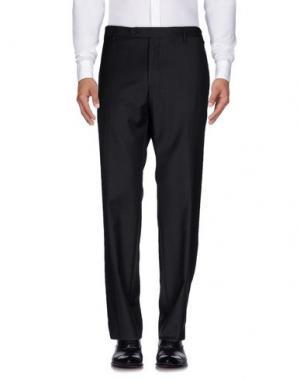 Повседневные брюки HARRISON. Цвет: стальной серый
