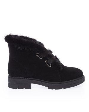 Ботинки YW18-31 38 черный Just Couture. Цвет: черный